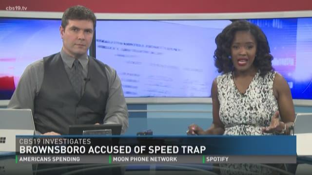 CBS19 Investigates: Brownsboro accused of speed trap